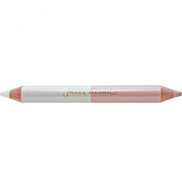 Jane Iredale White/ Pink Eye Highlighter Pencil with Sharpener