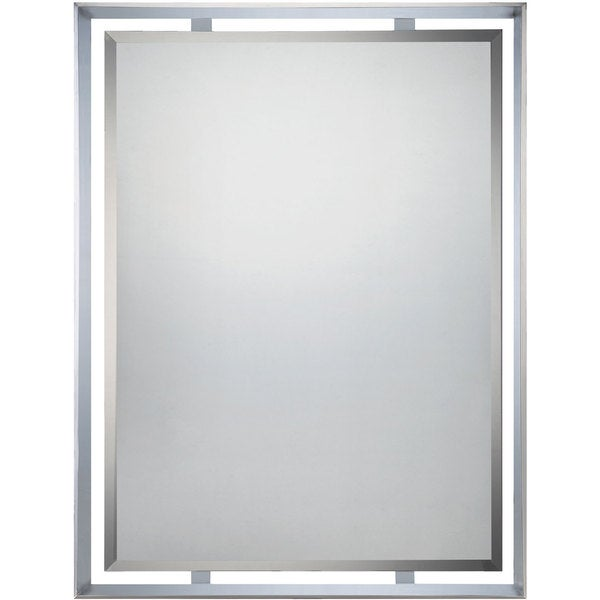 Quoizel Uptown Ritz Polished Chrome Mirror