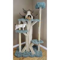 Prestige Cat 7' Solid Wood Cat Tree
