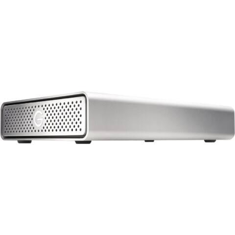 HGST G-DRIVE GDREU3G1PB40001BDB 4 TB Hard Drive - SATA (SATA/600) - External - Desktop - Silver