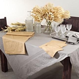 Jacquard Tablecloth or Napkins (Set of 4)