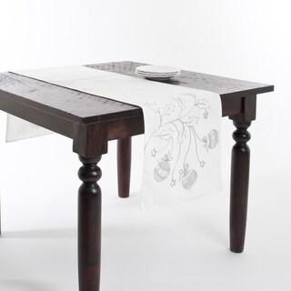 Embroidered Christmas Design Table Runner