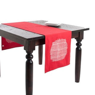 Stitched Design Table Runner