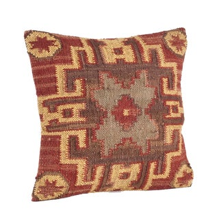 Kilim Design 20-inch Down Filled Throw Pillow
