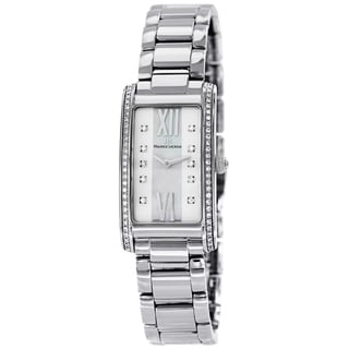 Maurice Lacroix Women's FA2164-SD532-170 'Fiaba' Mother of Pearl Diamond Dial Stainless Steel Watch