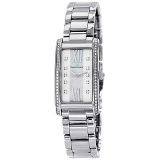 Maurice Lacroix Women's FA2164-SD532-170 'Fiaba' Mother of Pearl Diamond Dial Stainless Steel Watch|https://ak1.ostkcdn.com/images/products/9414902/P16602353.jpg?impolicy=medium