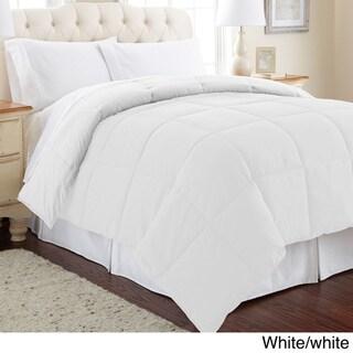 All Season Reversible Down Alternative Microfiber Comforter
