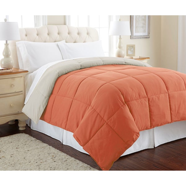 Modern Threads All-season Reversible Down Alternative Comforter. Opens flyout.