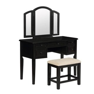 Powell Newcastle Terra Cotta Vanity, Mirror and Bench