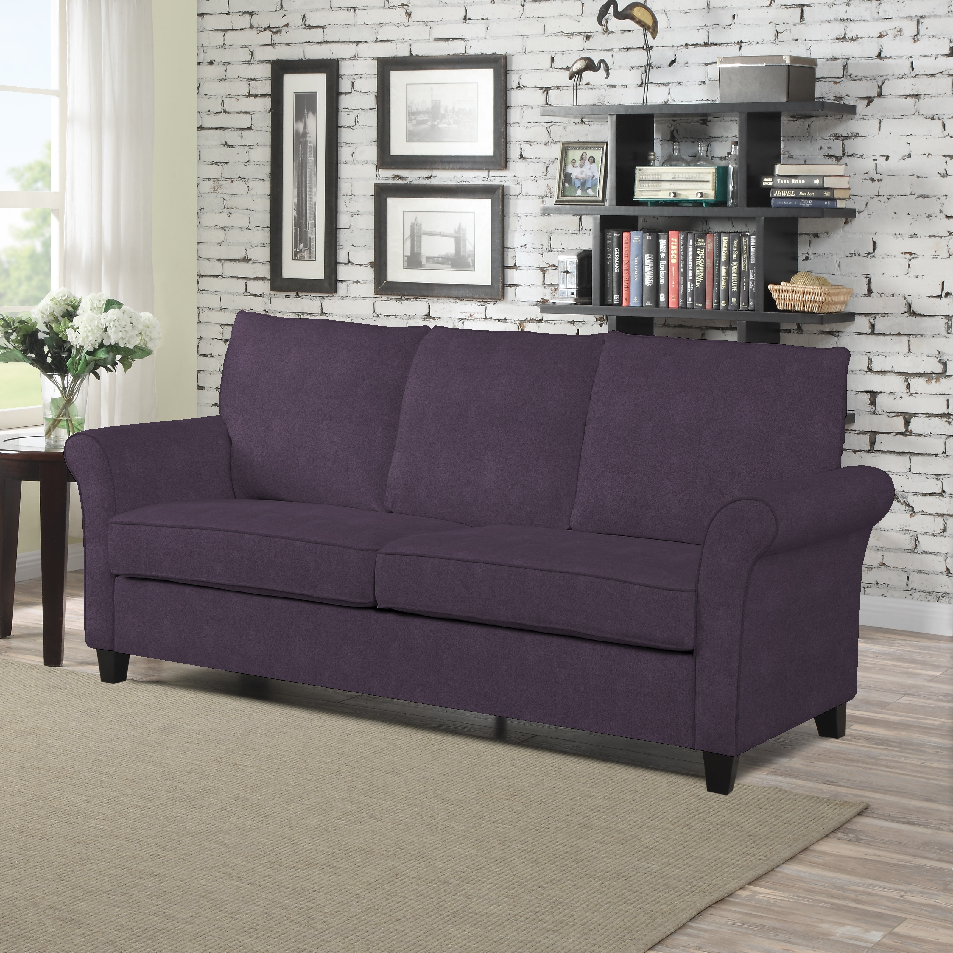 velvet back plum winged christopher product high garden ships home loveseat overstock canada nolie by tufted to knight