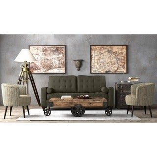 Handy Living Taya Basil Green SoFast Sofa