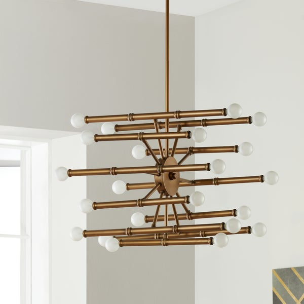 Bali Goldtone 22 Light Chandelier
