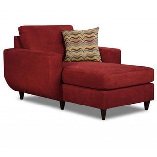 Made to Order Simmons Upholstery Killington Red Chaise