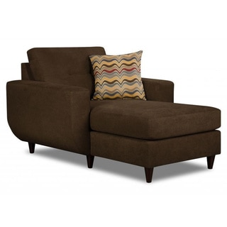 Made to Order Simmons Upholstery Killington Chocolate Chaise