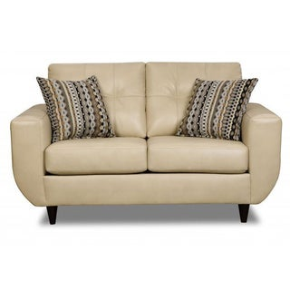 Made to Order Simmons Upholstery Jamestown Champagne Loveseat