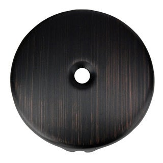 Premier Copper Products Oil Rubbed Bronze Single-Hole Overflow Face Plate