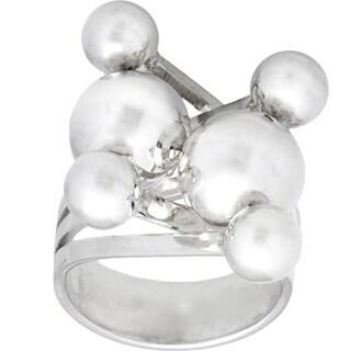 Kele & Co Sterling Silver Criss-cross Ring