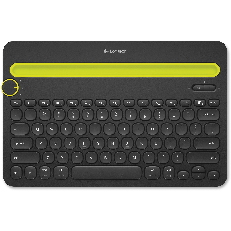 Logitech Bluetooth Multi-Device Keyboard K480, Black #920...