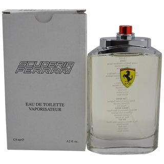 Ferrari Scuderia Men's 4.2-ounce Eau de Toilette Spray (Tester)