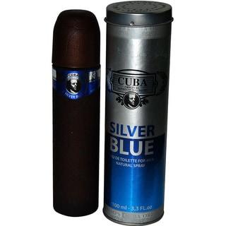 Cuba Silver Blue Men's 3.3-ounce Eau de Toilette Spray