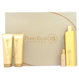 Perry Ellis 18 Sensual Women's 4-piece Fragrance Set
