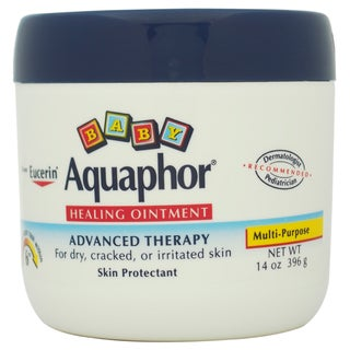 Eucerin Aquaphor Baby Healing Ointment For Dry Cracked or Irritated Skin Kid's 14-ounce Skin Protectant