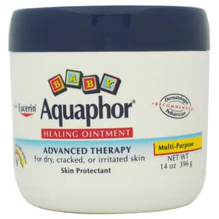 Eucerin Aquaphor Baby Healing Ointment For Dry Cracked or Irritated Skin Kid's 14-ounce Skin Protectant|https://ak1.ostkcdn.com/images/products/9416049/P16603402.jpg?impolicy=medium