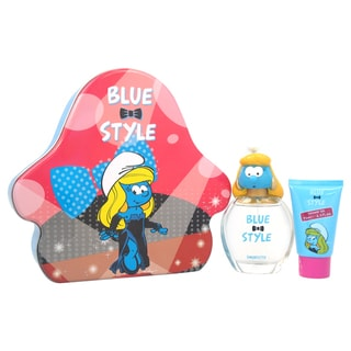 The Smurfs Blue Style Smurfette 3-piece Fragrance Set