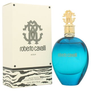 Roberto Cavalli Acqua Women's 2.5-ounce Eau de Toilette Spray (Tester)