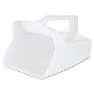 Rubbermaid Commercial Rubbermaid Commercial White 64-ounce Bouncer Utility Scoop