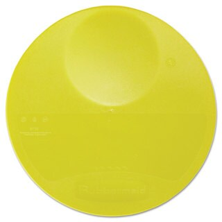 Rubbermaid Commercial Yellow 10 1/4 Dia. x 1 Round Storage Container Lid