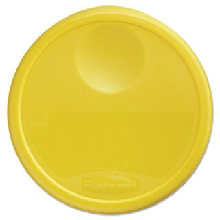 Rubbermaid Commercial Yellow Round Storage Container Lid