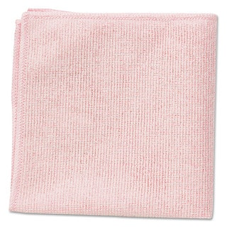Rubbermaid Red Microfiber Cleaning Cloths