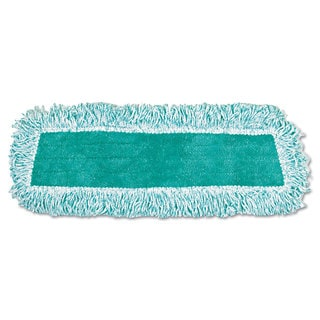 Rubbermaid Commercial Green Microfiber Dust Mop with Fringe (Pack of 12)
