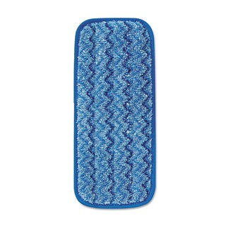 Rubbermaid Commercial Blue Microfiber Wall/ Stair Wet Mopping Pad (Pack of 6)