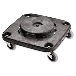Rubbermaid Commercial Black Brute Container Square Dolly