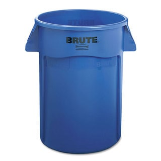 Rubbermaid Commercial Blue Brute 44-gallon Vented Trash Receptacle