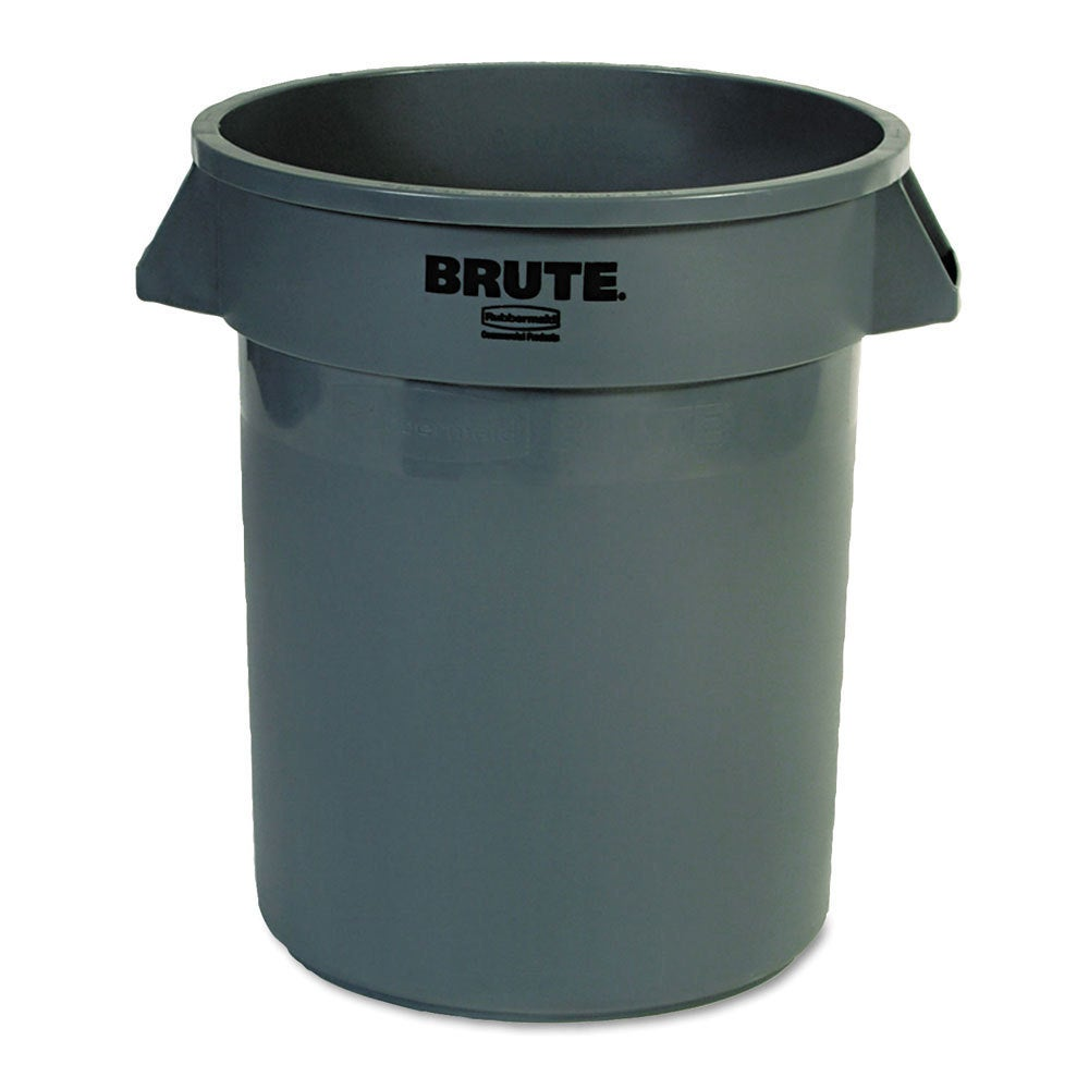 Rubbermaid Commercial 20-gallon Grey Round Brute Containe...