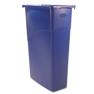 Rubbermaid Commercial 23-gallon Slim Jim Blue Waste Container