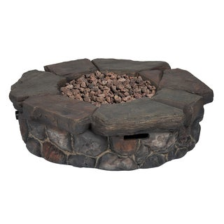 Granite Falls 42-inch Round Gas Fire Table