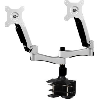 "Amer Mounts Dual Articulating Monitor Arm. Supports two 15""-26"" LCD/L"