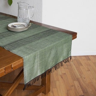 Handmade Desert Sage Table Runner (Morocco)