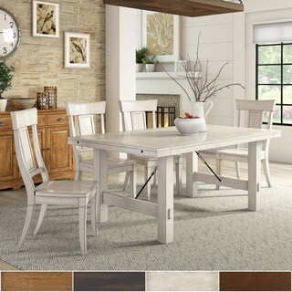 Swindon Rustic Oak Turnbuckle Extending Dining Table By INSPIRE Q Classic