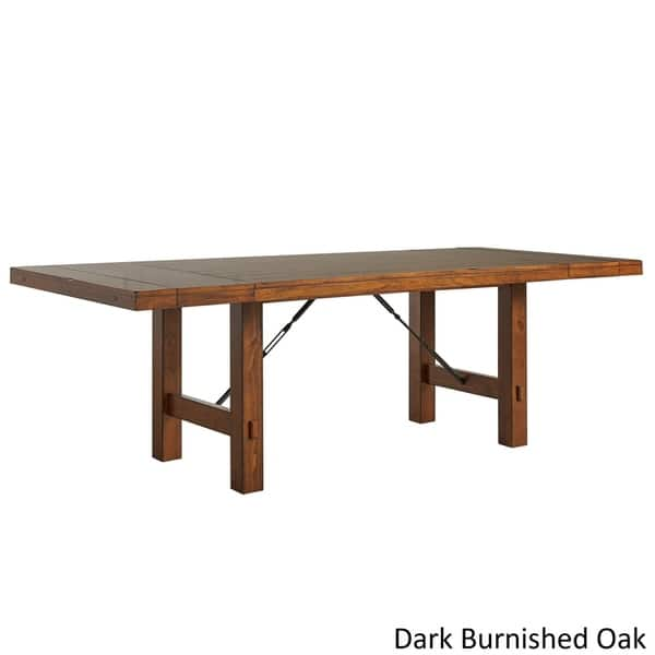Swindon Rustic Turnbuckle Extending Dining Table By Inspire Q Classic Dining Table On Sale Overstock 9418648