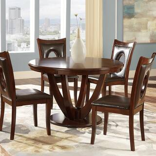 round dining room table. Miraval Cherry Brown Round Dining Table by iNSPIRE Q Classic Room  Kitchen Tables For Less Overstock com
