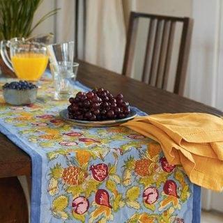 Tutti Frutti Cotton Table Runner