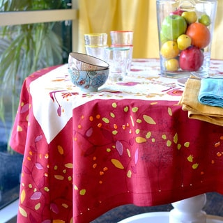 Treetop Rectangular Cotton Tablecloth