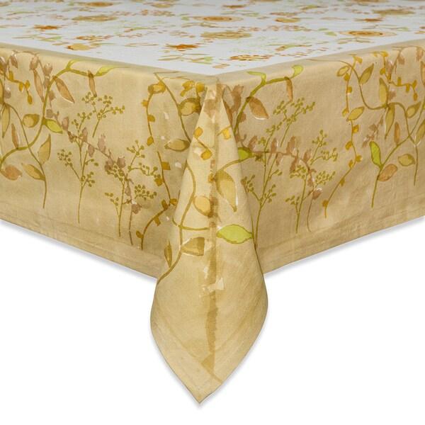 Treetop Rectangular Cotton Tablecloth