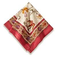 Fleurs des Indes 19x19-inch Cotton Napkins (Set of 6)