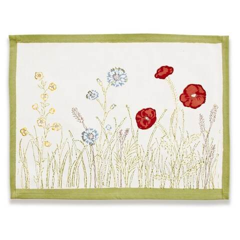 Springfields Multicolored PlaceCotton Mats (Set of 6)